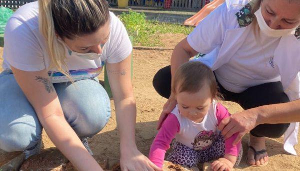 Centros de Educação Infantil ganham hortas feitas pelas crianças