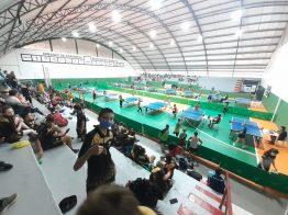São Domingos conquista 23 medalhas em campeonato de tênis de mesa na cidade de Pinhalzinho.