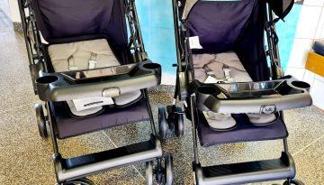 Secretaria de Educação e Cultura adquire carrinhos de bebê para a Educação Infantil.