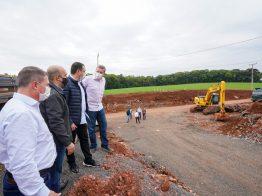 Governo determina início das obras de pavimentação da SC-484, no Oeste