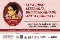 Bicentenário de Anita Garibaldi: vencedores de concurso literário serão premiados em Florianópolis